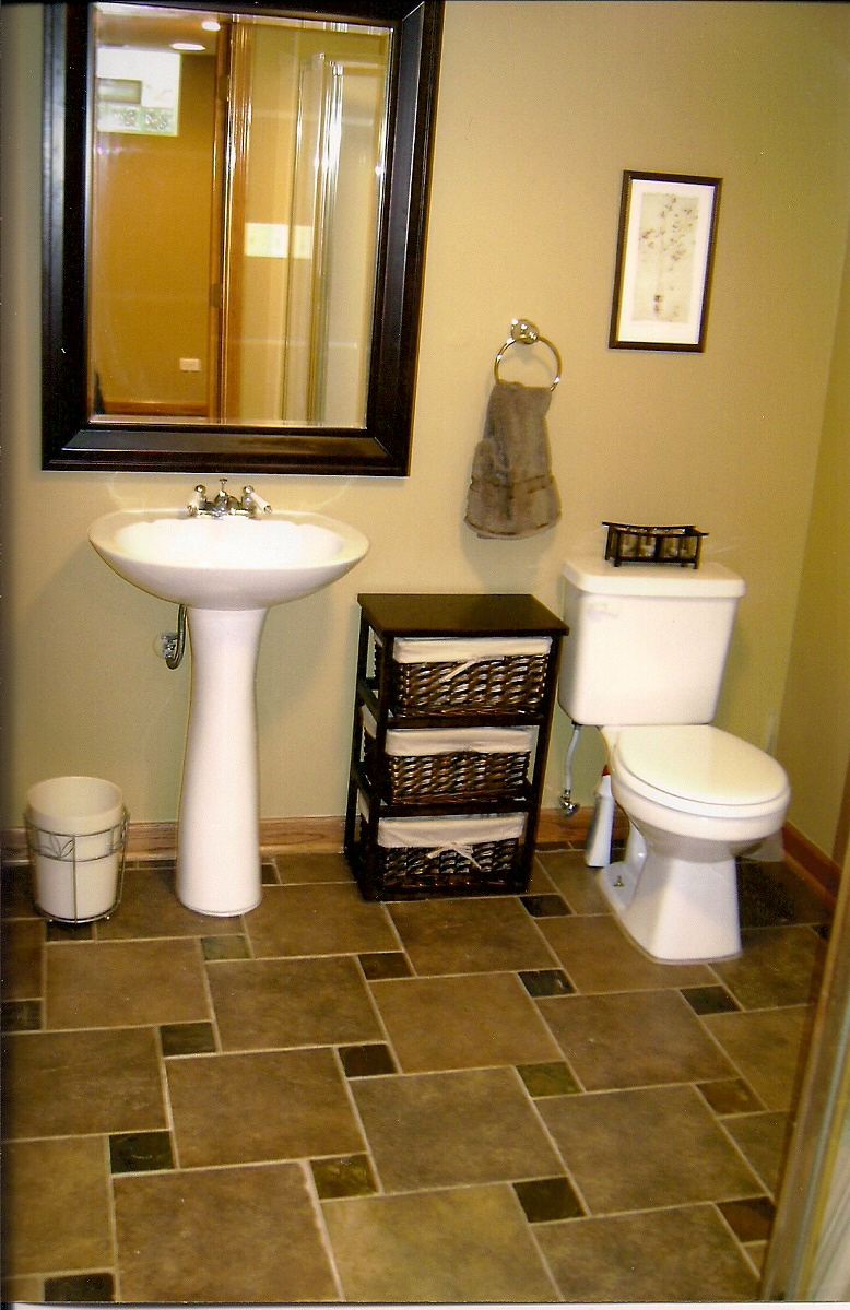 Basement Bathroom, Glenview, IL