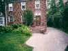 Brick Paver Front Steps and Walkway