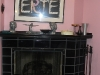 Tiled Hearth & Mantle Fireplace, Highland Park, IL