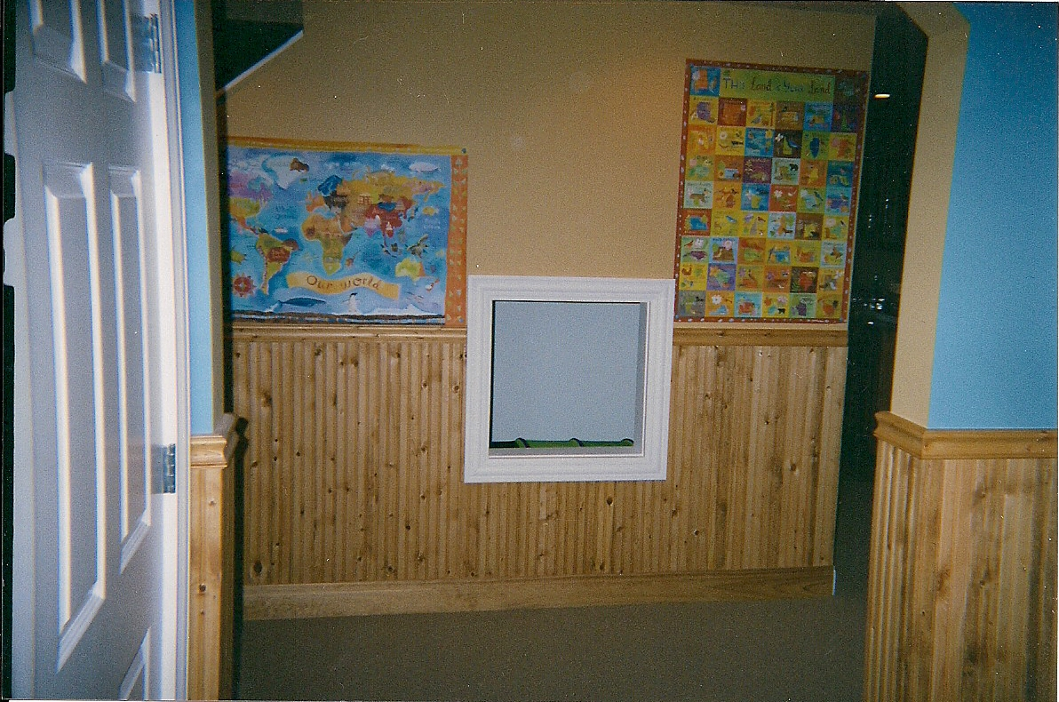 Clubhouse Kids Show Kids Clubhouse Wainscoting